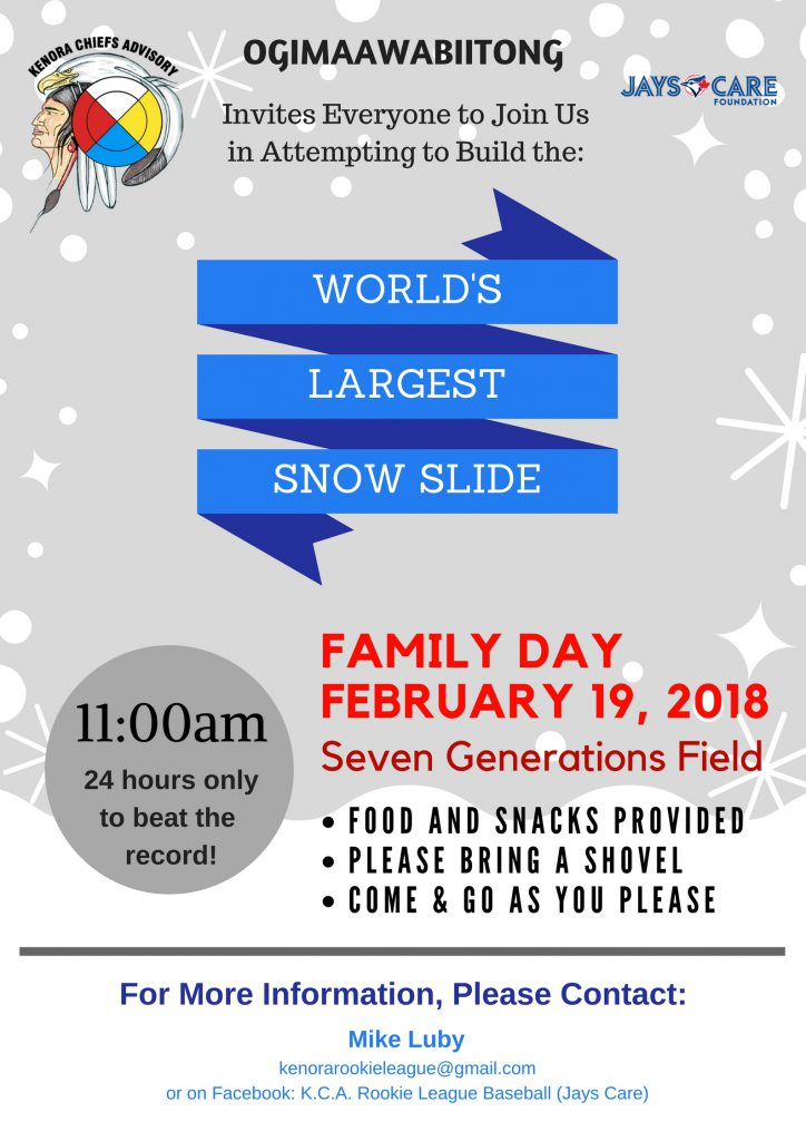 KCA World's Largest Snow Slide Record Attempt!